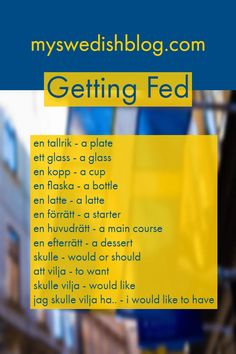 Memrise: Swedish Getting Fed Learn Swedish Online, How To Learn Swedish, Mall Of America, North America, Sweden Language, Great Northern Railroad, Learning Languages Tips, About Sweden, Speaking In Tongues