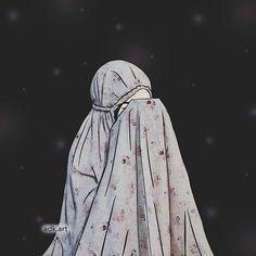 Muslim Girls, Muslim Couples, Muslim Women, Hijabi Girl, Girl Hijab, Girl Cartoon, Cartoon Art, Tmblr Girl, Hijab Drawing