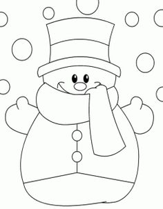 Winter Season Coloring Pages For Kids