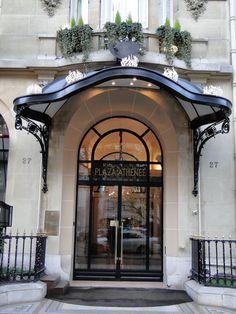 Ideas for hotel door design building Entrance Design, Door Design, Interior Exterior, Exterior Design, Exterior Shutters, Exterior Remodel, Exterior Colors, Plaza Athenee Paris, Hotel Door