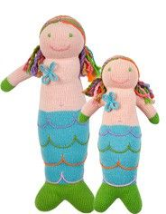 Mermaid Knit Dolls