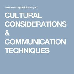 communication processes to accommodate diverse groups