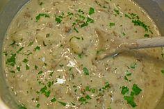 Blumenkohl-Käse Suppe