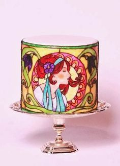 stained glass wedding cake - Google Search