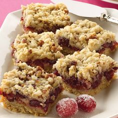 Cranberry Bar Recipes