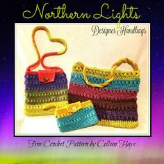 Northern Lights Handbags Crochet Pattern