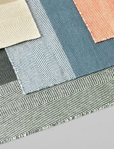 Varjo is a hand woven rug made with the finest quality 100% New Zealand wool. The rug's pattern is inspired by the herringbone configuration in old hardwood floors and the name varjo (meaning shadows in Finnish) refers to the shadow effects created between the layers of the pattern. Varjo cleverly masters the fine balance between being a subtle rug suitable for all interiors, while at the same time being very detailed and unique.