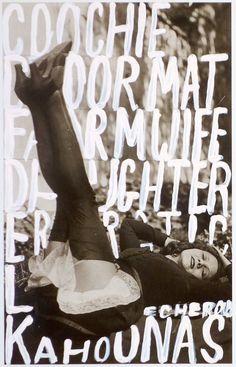 1stdibs.com   Betty Tompkins - Woman Words 1