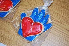 Kissing Hand Cookies