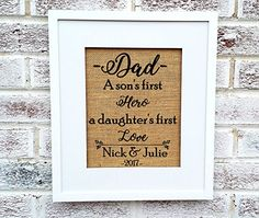 Father's day gifts, fathers day ideas, gifts from daughter or son #fathersdaygifts