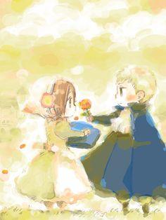 so sweet ~ Chibitalia and HRE