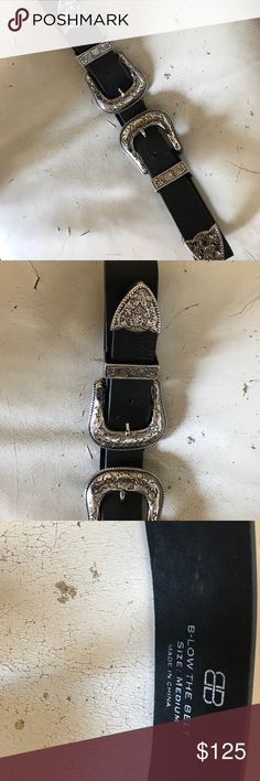 Nwot B Low the Belt Bri Bri Buckle Belt size M Nwot. Gained some weight, never worn this beauty!!Size M B-Low the Belt Accessories Belts