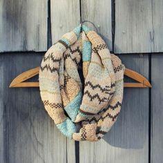 Fair Isle Knit Infinity Scarf Fair Isle Knitting, Winter Wear, Scarf  Styles, Fashion 430d9f24f51