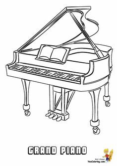 musical grand staff coloring pages - photo#41