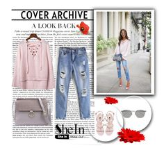 """""""SheIn 3/VII"""" by nermina-okanovic ❤ liked on Polyvore featuring Linda Farrow and shein"""