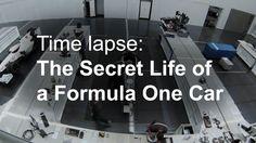 Was passiert eigentlich mit einen Formel 1 Racer wenn er gerade nicht gebraucht wird? Sauber zeigt und das in einem beeindruckenden Clip!