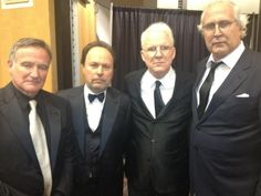 Robin Williams, Billy Crystal, Steve Martin & Chevy Chase Being Funny