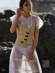 Rose Freemantle | Beach Fashion Editorial | ELLE Australia