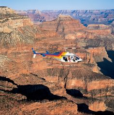 Take an amazing ride from Vegas to the Grand Canyon via Papillon Helicopter.  My family and I loved it!