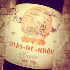 Xavier Côtes du Rhône Rouge 2010: O là là!!! - Weinbilly.de #Wine