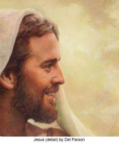 Alfa img - Mostrando> New Del Parson Christ Painting