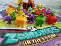 The Zomlings are back and this time, they're in the future! We explore the Zomlings Series 6.