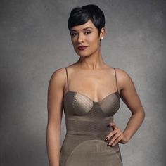 the one and only Grace Gealy Short Pixie, Short Hair Cuts, Pixie Cuts, Pixie Bob, Black Women Short Hairstyles, Short Hairstyles For Women, Pixie Styles, Short Styles, Grace Gealey