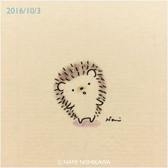 989 呼んだ? Did you call me? Hedgehog Tattoo, Hedgehog Drawing, Hedgehog Craft, Cute Hedgehog, Doodle Drawings, Cartoon Drawings, Cute Drawings, Hedgehog Illustration, Cute Illustration