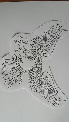 Chest Tattoo Flash, Eagle Chest Tattoo, Eagle Tattoos, Traditional Chest Tattoo, Traditional Ink, Traditional Tattoo Stencils, Mask Tattoo, 1 Tattoo, Tattoo Sketches