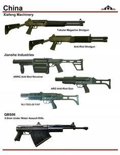 China assault rifle