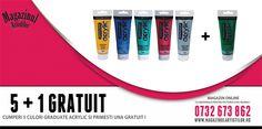 La 5 culori Graduate Acrylic cumparate, primesti una GRATUIT!