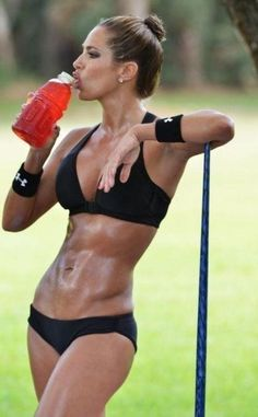 Sport drinks also are great for getting those electrolytes back in your system! #gatorade #hydrate #fitness