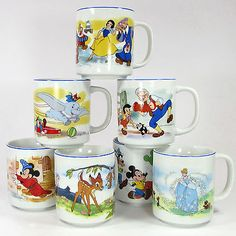 Image result for vintage cinderella mug
