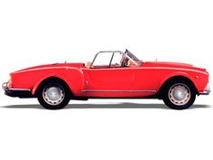 1955-1959 Lancia Aurelia B24 Convertible:     Sweet-singing aluminum V-6 and curves like a young Gina Lollobrigida. Turns every road into Monaco coastline.