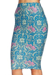 L Divine Nouveau Midi Pencil Skirt - LIMITED (AU $65AUD / US $45USD) by Black Milk Clothing
