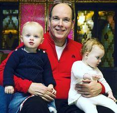 Prins Albert en de tweeling,Jacques en Gabrielle