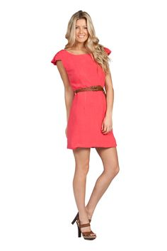 the only color close to pink that i'll wear. coral :]