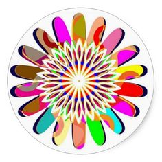 FLORAL Wheel Chakra Colorful Decorations Round Stickers   http://www.zazzle.com/floral_wheel_chakra_colorful_decorations_sticker-217836938733860741?size=3.0&view=113990321663375483&rf=238147436244706550