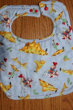 cowboy cowgirl bib by BeastiesBabies on Etsy, $8.50