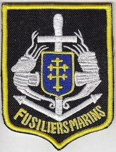 France Navy Marine Infantry Commando Marine Francaise Commando des Fusiliers Mar