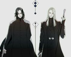 severus snape vs Lucius Malfoy by on DeviantArt Fanart Harry Potter, Harry Potter Film, Harry Potter Severus Snape, Severus Rogue, Mundo Harry Potter, Harry Potter Artwork, Harry Potter Ships, Harry Potter Images, Harry Potter Love