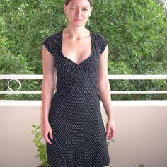 C Dress free sewing pattern