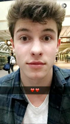 Shawn mendes, Snapchat cute ❤