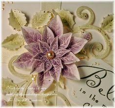 Eggplant Poinsettia - Heartfelt Creations