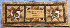 """Time for some thrilling heroics"" Firefly quilted wallhanging made for TV Addicts Swap on Craftster"