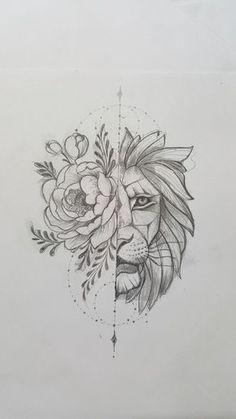 lion sketch tattoos \ lion sketch tattoos + lion tattoo sketch + lion tattoos men sketch + sketch style tattoos lion + lion head tattoos sketch + lion tattoos chest sketch + lion tattoos for men sketch Rose Tattoos, Body Art Tattoos, Tattoo Drawings, Sleeve Tattoos, Art Drawings, Sketch Tattoo, Flower Drawings, Flower Paintings, Drawings Of Birds