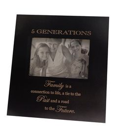 Look at this #zulilyfind! '5 Generations' Frame #zulilyfinds