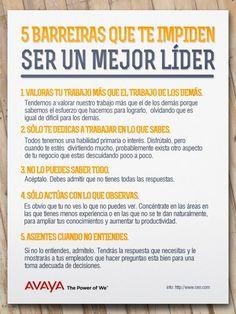 5 Barreras que te impiden ser un mejor LÍDER #Liderazgo #umayor #estudiantes