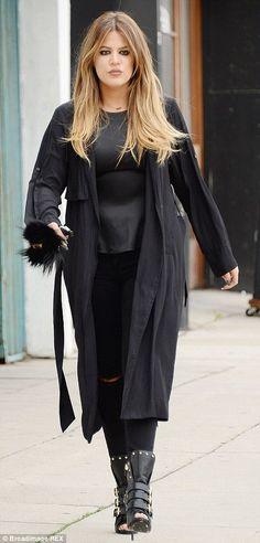 Khloe Kardashian...