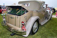1930 Minerva AL Vanden Plas Cabriolet - rear